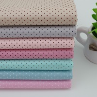 7 colors 40x50cm polka dot 100% cotton patchwork fabric quilt home textile for sewing crafts tilda can buy meters