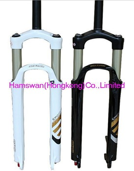 HOT SALE 26ER Pressure fork black SUNTOUR the Third Extension EPICON magnesium alloy shoulder control locked Disc Edition
