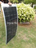 80w mono semi-flexible solar panel, 80watt monocrystalline portable solar module*`#