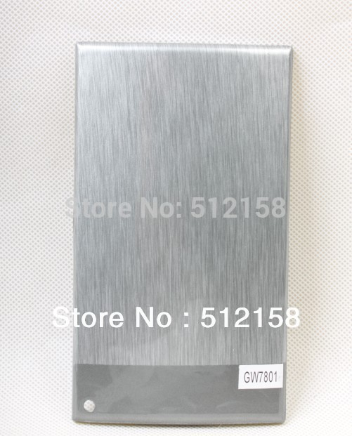 Tooth Brush Holder Water Transfer Printing Hydro Graphics Film Transparent Film - Metallic silver wire GW7801 WIDTH100CM