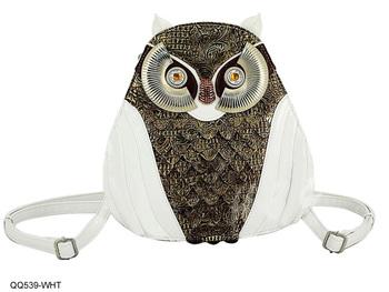 новое прибытие 2014 промотирования свежие сова дизайн рюкзак ёенщин мешок бесплатная доставка оптовая и розничная/qq539