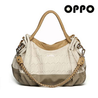 2013 Hot selling free shipping OPPO brand bag women's handbag fashion leather handbag shoulder bag chain bag new arrival
