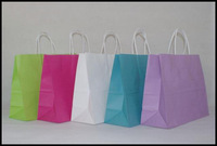 Free shipping 40pcs/lot 32cm*25cm*11cm kraft paper gift bag, , Festival gift bags, Paper bag with handles, wholesale