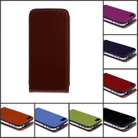 HK post free shipping Luxury For iPhone4 Case Genuine Flip Leather Cover For iPhone 4S 4 Cell Phone Accessories
