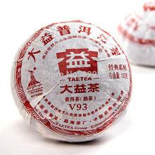 [DIDA TEA] V93 2010yr MengHai Dayi (TAETEA) Premium Organic Ripe Pu Erh Pu Er Pu'er Tuocha Tea 100g/tuo
