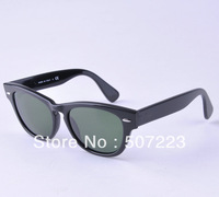 Freeshipping Sunglasses green lens  black frame 4169 Classic FaShion design sunglasses