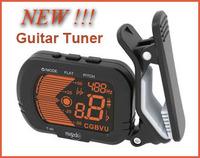 New Hot ! LCD Electronic Digital Violin Guitar Metronome Chromatic Bass Ukulele Generator Tuner Freeshipping Dropshipping T-40
