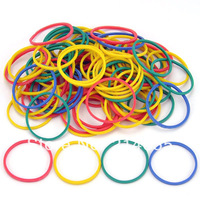500pcs High Quality Assorted Color Rubber Band for Tattoo Machine #WS-J50006