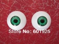 Wholesale ACRYLIC REBORN DOLL EYES Diameter 34MM -- 16# half round BJD REBORN EYES  4 Colors Mixed sale