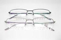 Fashion eyeglasses frame men 2014 Half rim optical frame titanium alloy  business super light B-8007