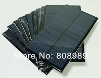 Wholesale!1.6W 6V Polycrystalline Solar Cells Solar Panels Slar Module For Charging Battery Solar System 10PCS/Lot Free shipping