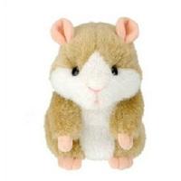 Free shipping 3pcs Smart Recordable Plush Toy Talking Hamster Recordable Voice Toys Plush