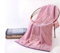 100% cotton bath towel 73*150cm 3 colors 480g auspicious names family style bath towel purple brown gary hot sale free shipping
