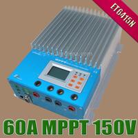 60A 48V ET6415 MPPT Solar Charge Controller 12V 24V 36V 48V auto Solar cells Panel Battery Regulators LAN Connection Ethernet