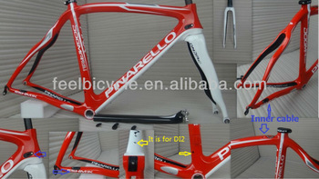 2014 Pinarello Dogma 65.1 Think 2 Dogma 747 Full Carbon Fiber Road Frame,including:Frame,Fork,Headset,Seatpost,Clamp,Gifts