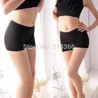 Free shipping hotsale (1 pcs/lot) sexy seamless  100% cotton Safety trousers  soft pants