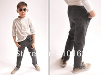 Free shipping 2015 new boys spring thin pants Straight pants cashmere trousers pencil pants children pants children's clothing