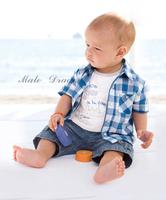 newborn bebe kid baby baby boy clothes roupa infantil plaid boys children jeans suit recem nascido  femininos roupas bebe sets