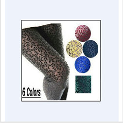 2013 New Black Floral LACE STRETCH LEGGINGS Footless Tights Sheer Skinny Pants NEW SEE-THRU LACE LEGGINGS Club Pants 5 colors(China (Mainland))