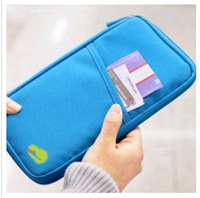 2013Hot sale Travel passport clutch bagsTravelus multifunctional storage bag card holder,ticket holder free shipping