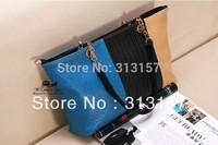 Hot! EUR-USA 2014 Ms. backpack  Handbags Hit color Retro Leisure