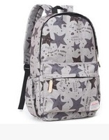 Korean Stryle Fashion Canvas Bagpack School Bags For Girls woman backpack Promotion! 6 color