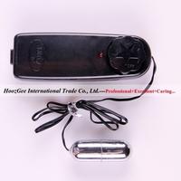 Wholesale 6pcs/lot classic cable vibrator black vibrating egg silver bullet sex toys adult products XQ-001D