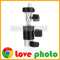 camera Flash Shoe Umbrella Holder Swivel Light Stand Bracket D
