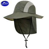 MOUNTAINTRIP BRAND outdoor sports sun hat, UV protection hat ,neck sun protection cap MC-243