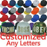 2014 New Snapback Adjustable Baseball Caps 3d Letters Unisex Style Hip Hop Cap Sun Cap Free shipping