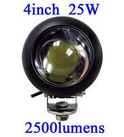 FOR JEEP 25W LED Work Light 2500 Lumen Offroad Driving Lamp 4inch   ATV,10-30V DC IP67 FLOOR BEAM cree led offroad led light