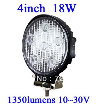 FOR JEEP 18W LED Work Light 1150 Lumen Offroad Driving Lamp 4inch   ATV,10-30V DC IP67 FLOOR BEAM cree led offroad led light