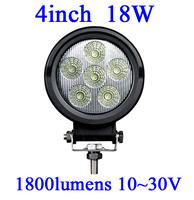 FOR JEEP 18W LED Work Light 1800 Lumen Offroad Driving Lamp 4inch   ATV,10-30V DC IP67 FLOOR BEAM cree led offroad led light