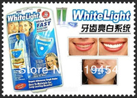 Hot dental White Teeth Tooth Whitening Light lamp Whitener Kit home white light teeth for AS SEEN ON TV 10pcs/lot Free Shipping