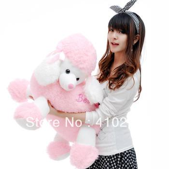 60CM Large Fashion Teddy poodle swifter shepherd dog plush toy doll stuffed animal for girls child birthday christmas gift