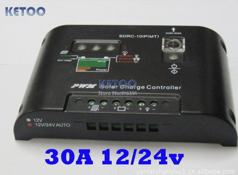 Солнечный контроллер Brand new 30 PWM ,  12 24V F0038 натенный аксессуар northern thailand street f0038 2 f0038 2