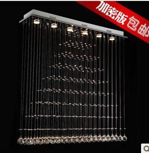 free shipping Crystal lighting crystal pendant light lamps 20*80*100cm modern brief fashion vd-18068 free shipping