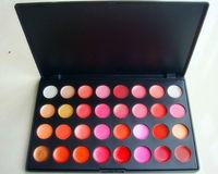2013 New  Arrival 32 Color Cosmetic  Lipstick Lipgloss Palette Set  free shipping E018