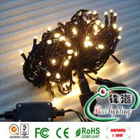 Free shipping hot sale 10M 100pcs Warm white led christmas light/ led christmas string light AC 220V Waterproof NEW