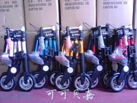 2013 Hot sale  8'' 8 inch  abike folding bicycle folding bike mini ultra-light small bicycle  black/silver/red/orange/blue