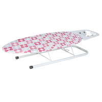 Desktop ironing board folding flatheads plate ironing board iron mesh hot hanger electriciron rack hot plate ironing table