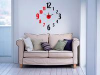 DIY 3D wall stickers clock diy  wall stickers wall clock art clock fashion living room wall clock