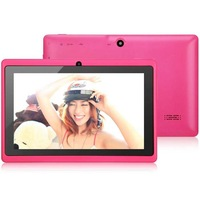 15pcs/lot DHL Free Shipping 7 inch Dual camera android 4.0 Capacitive Screen 4GB WIFI Q88 allwinner A13 tablet pc six colors