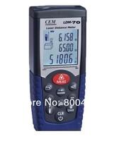 IP54 CEM LDM-70 laser distance meter laser rangefinder measure 0.05-70m(0.15ft to 230ft) with free shipping! laser rangefinders