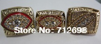 A Set NFL Washington Redskins XVII XXII XXVI Super Bowl Championship Ring size 11 US Best gift for fans collection 3PCS in stock