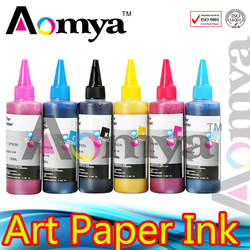wholesale!! Art paper ink For Epson Stylus Photo R800/R1800 8colors/set(China (Mainland))