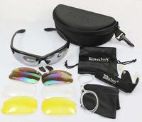 Daisy C3 4 lenses Desert Storm SunGlasses Tactical Goggles Bicycle Eyewear UV400 Glasses