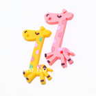 Free shipping 1 Pc Giraffe MP3 iPod Earphone Cable Cord Winder Organizer 8454(China (Mainland))