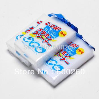 Free shipping 3 Pcs kitchen Magic Sponge Clean Cleaner Cleansing Eraser Car Wash #8629