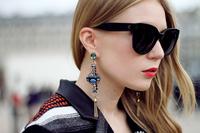 Hot sales free shipping  new Designer Audrey Polarized Sunglass CL41755 fashion sunglasses women Brand sunglasses